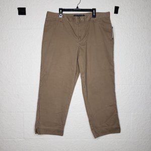 NWT Ralph Lauren Polo Sport Chino Capri Size 14
